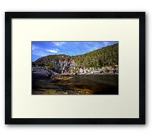 A Bridge to the Past Framed Print