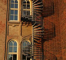 Spiral Staircase by Madeleine Forsberg