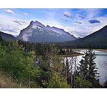 Mt. Rundle Photographic Print
