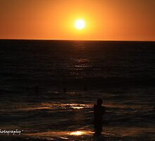 'Somewhere over the Ocean' - Floreat Beach WA by Brien Bland