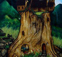 Tree Stump House by Peter Maudsley