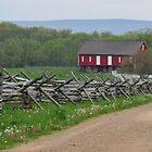Farm at Gettysburg by EmmaLeigh
