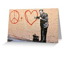 Banksy - Doctor Love - San Francisco, CA 2010 Greeting Card