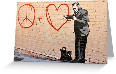 Banksy - Doctor Love - San Francisco, CA 2010 by Monica  Dahl
