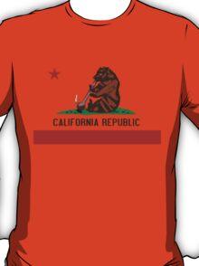 Funny Shirt - California State Flag T-Shirt