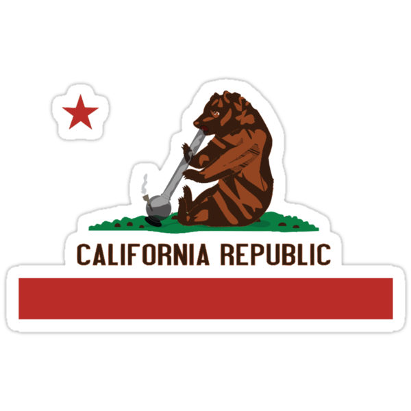 Funny Shirt - California State Flag by MrFunnyShirt