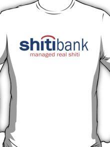 Funny Shirt - Shiti Bank T-Shirt