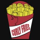 Funny Shirt - Curly Fries by MrFunnyShirt