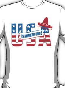 Funny Shirt - USA Is Numero Uno Funny T-Shirt