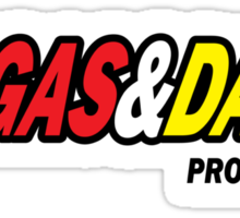 Funny Shirt - Gas and Dash Sticker