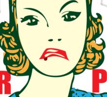 Funny Shirt - Her Peas Sticker