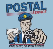 Funny Shirt - Postal by MrFunnyShirt