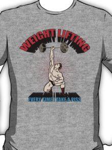 Funny Shirt - Weight Lifting T-Shirt