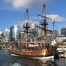 Darling Harbour, Sydney by April Jarocka