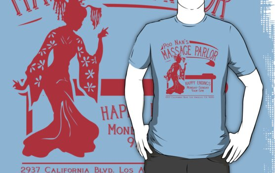 Funny Shirt - Happy Endings by MrFunnyShirt