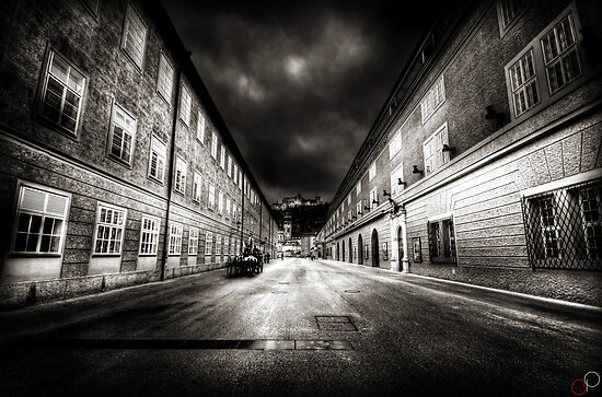 Stormy Salzburg by Luke Griffin