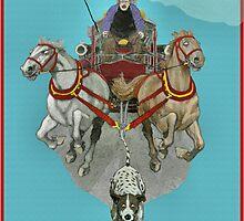New York Firedog.   [after C.T.Hill.] by albutross