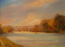 Towards Henley on Thames by Beatrice Cloake