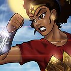 African American Wonder Woman by illumistrations