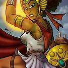 African American She-Ra  by illumistrations
