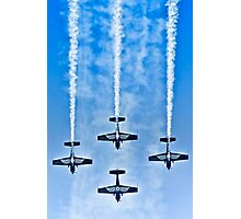 """Flying precise - """"Blue Arrows"""" Photographic Print"""