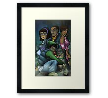 African American Scooby Doo Detective Agency Framed Print