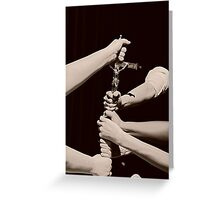 In God we . . . . Greeting Card