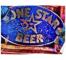 LoneStarBeer Poster