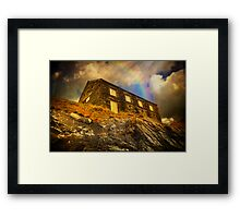 House Of Rock Framed Print