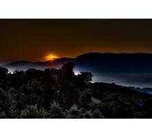 Valley Sunrise Photographic Print