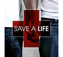 SAVE A LIFE MOVE POSTER by DeniedSeries