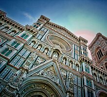 Santa Maria Del Fiore Cathedral-Florence, Italy by John Taylor