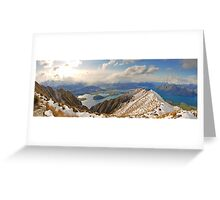 New Zealand - Mount Roy  Greeting Card