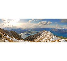 New Zealand - Mount Roy  Photographic Print