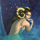 &quot;Aries&quot;...from &quot;Zodiac signs&quot; series by dorina costras