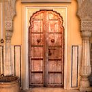 Jaipurian Door by Clive S
