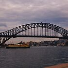 Harbour Bridge, Sydney.  by Liz Worth