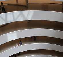Interior, Guggenheim Museum, New York, USA by Denzil