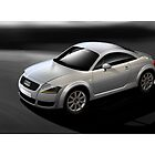 Audi TT Coupe Poster by Autographics