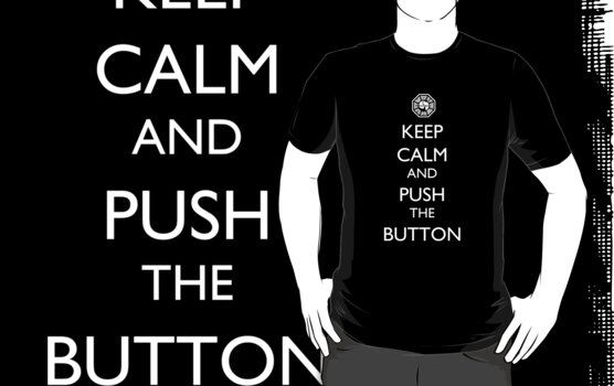 Keep Calm & Push the Button by Namueh