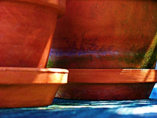 Clay Pots by DionNelson