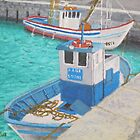 Fishing Boats - Tarifa Spain by artofjackmck