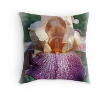 Iris Of Many Colors Throw Pillow