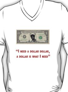 Aloe Blacc I need a dollar lyrics with twist T-Shirt