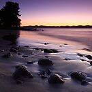 Dawn at Dixons Beach, Taroona,Tasmania by Chris Cobern