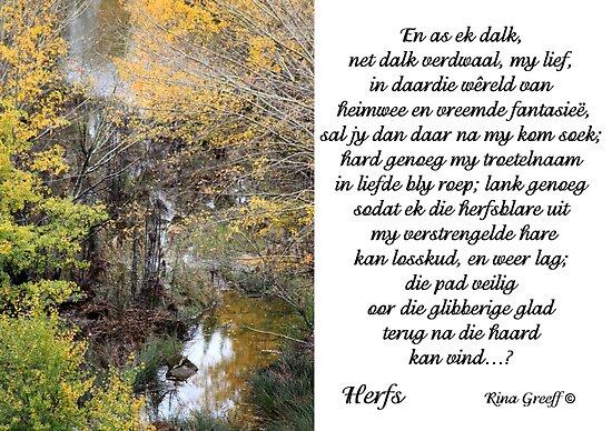 Herfs by Rina Greeff
