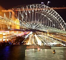 Harbour Bridge time warp by David Petranker