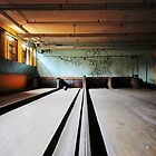 Norwich State Hospital, Underground Bowling Alley by MicheleDAmicol