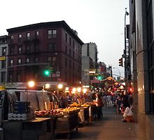 Chinatown Here, Little Italy There. by Betty Mackey