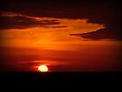 Red sky at night, sailor's delight... by Lucinda Walter